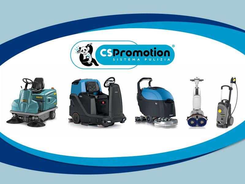 Offerta Macchine Pulizia Industriale - Occasione Detergenti Pulizia Industriale - CS Promotion