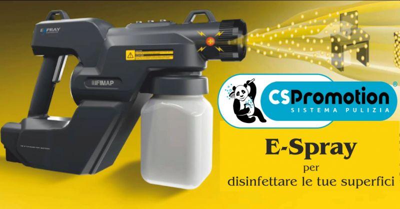 cs promotion offerta e-spray - occasione pistola per disinfettare superfici perugia