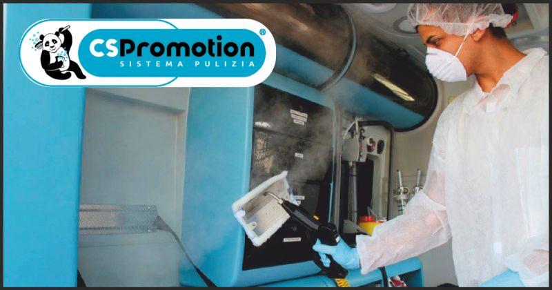 cs promotion offerta sanificazione degli ambienti - occasione pulizia negozi perugia