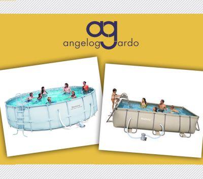offerta piscina fuori terra bestway vendita pulitori automatici piscina