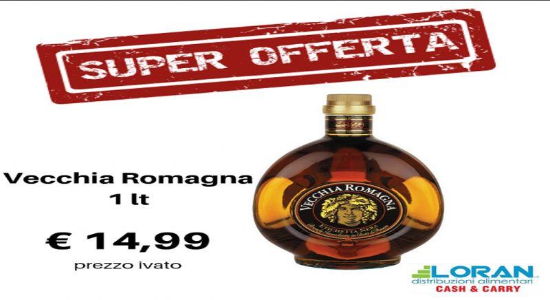 Loran Cash & Carry offerta vecchia romagna - occasione brandy Siracusa