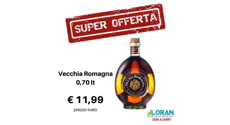 Loran Cash & Carry offerta vecchia romagna - occasione cognac etichetta nera Siracusa