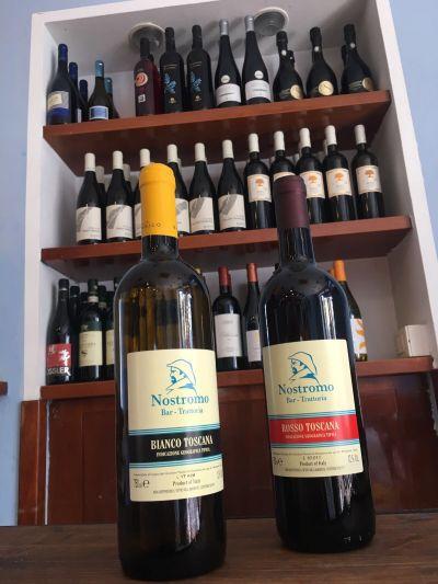 offerta cena promozione vino trattoria nostromo
