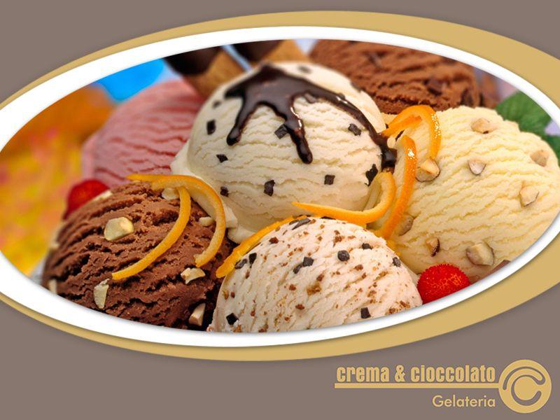 Offerta Gelateria Artigianale - Occasione Gelato Artigianale - Crema & Cioccolato