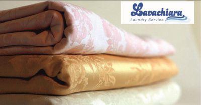 offerta noleggio e pulizia tovaglie e biancheria pistoia lavachiara laundry service