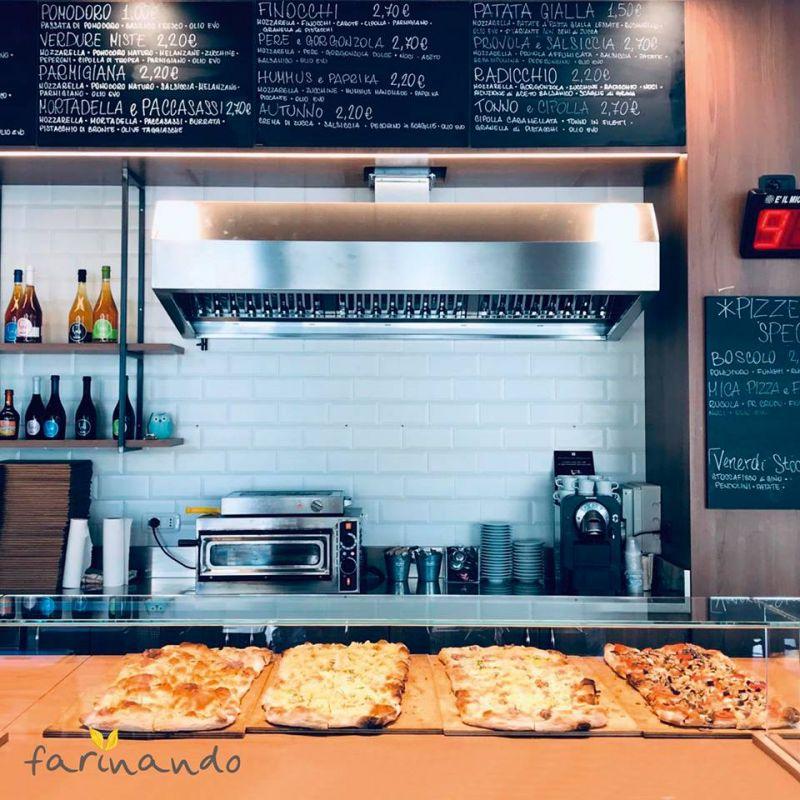 FARINANDO offerta Pizza gourmet Ancona