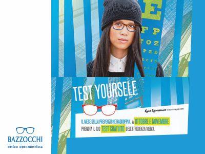 offerta esame vista gratuito promozione test yourself lenti progressive ottica bazzocchi varese