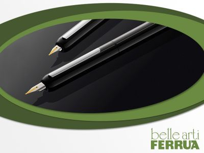 offerta penne stilografiche da regalo occasione penne da collezione belle arti ferrua