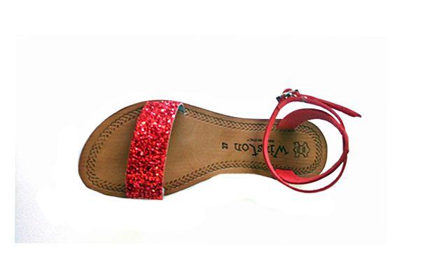 offerta-Sandalo donna in cuoio marchio Tomaia