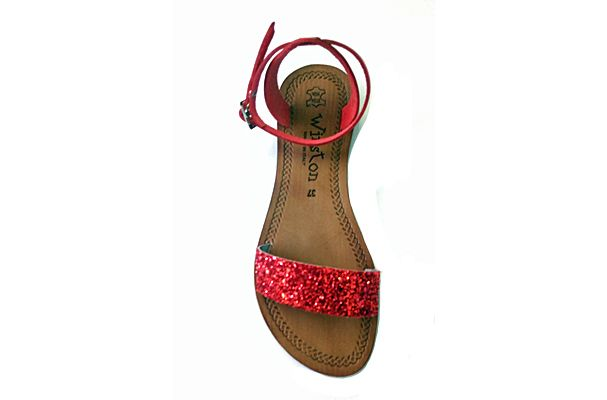 Offerta-Sandalo donna in cuoio
