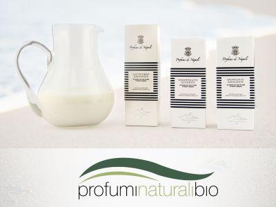 offerta crema shampoo latte di bufala promozione cosmetici naturali profumi naturali bio