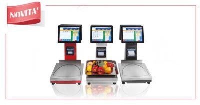offerta servizio vendita bilance professionali pole star touch per supermercati a torino