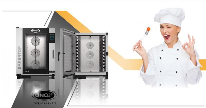 Offerta vendita e distribuzione forno professionale Bakertop a Torino - Gimas Bilance
