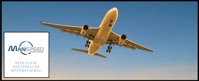 Manspeed Offerta servizio cargo aereo export - Promozione spedizioni economiche importazioni