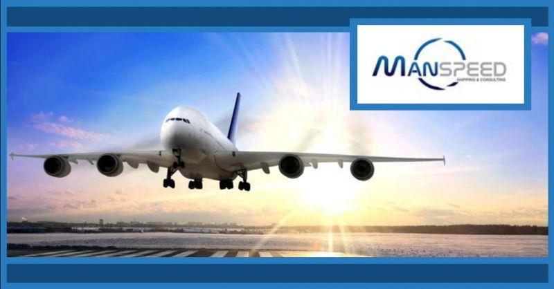 MANSPEED offerta trasporti aerei a Verona - occasione spedizioni aeree internazionali