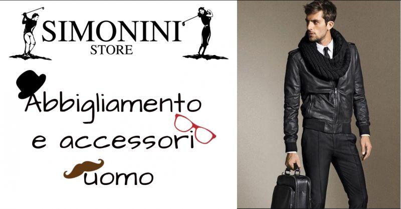Simonini Store - offerta abbigliamento uomo - promozione moda uomo - occasione accessori uomo