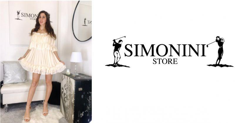 Simonini Store - occasione abito corto - promozione abbigliamento donna estate - savona