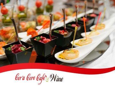 offerta apericena promozione apericena con musica dal vivo cora core cafe wine