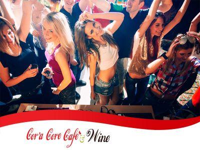 offerta locale per feste private promozione organizzazione feste di laurea cora core cafe