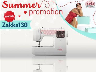 offerta macchina per cucire zakka 130 promozione zakka 130 necchi cucitomania