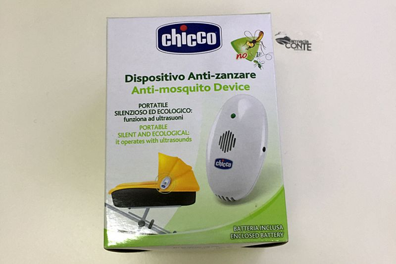 Offerta-Anti zanzare portatile ad ultrasuoni CHICCO
