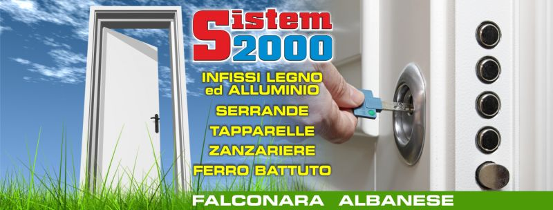 OFFERTA INFISSI ALLUMINIO COSENZA - offerta scale in ferro battuto cosenza - sistem2000 cosenza