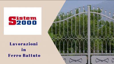 sistem 2000 offerta lavorazioni ferro battuto cosenza promozione realizzazioni ferro cosenza