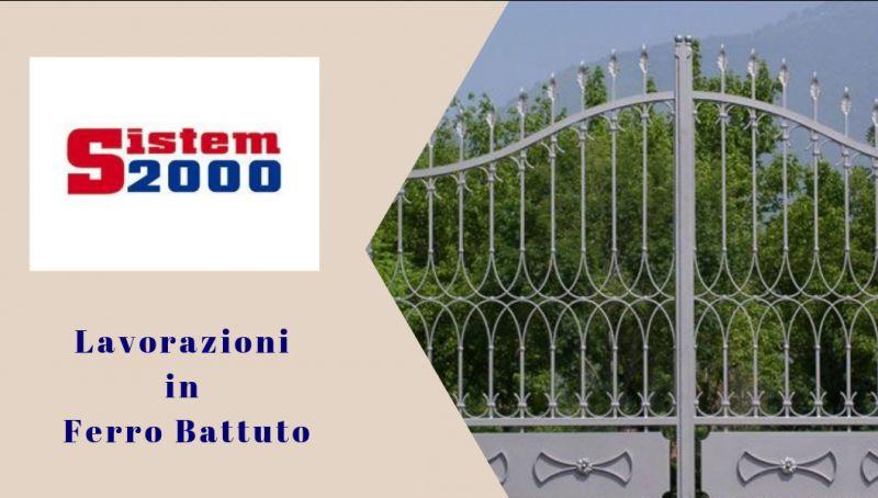 Sistem 2000 offerta lavorazioni ferro battuto cosenza - promozione realizzazioni ferro cosenza