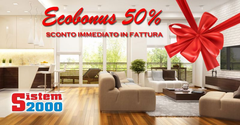 Offerta finestre ecobonus 50 per cento Falconara Albanese - promozione  sostituzione finestre sconto in fattura