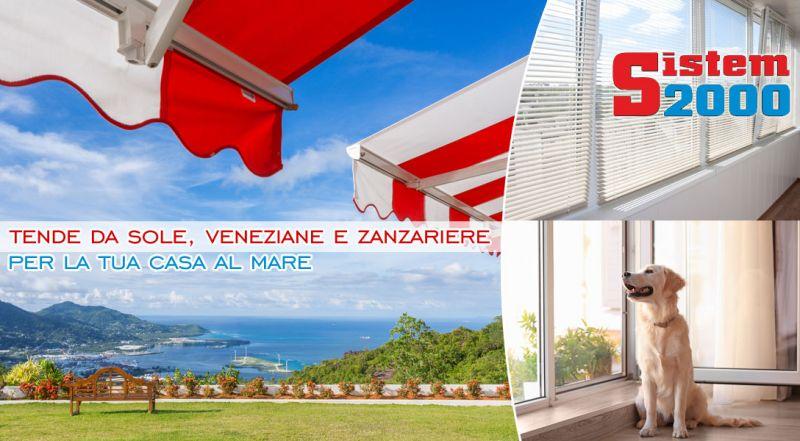 Offerta installazione tende da sole casa al mare Falconara Albanese - promozione installazione zanzariere e veneziane casa al mare