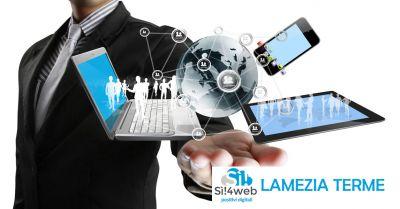 progettazione siti web responsive professionali simeri crichi offerta siti internet si4web