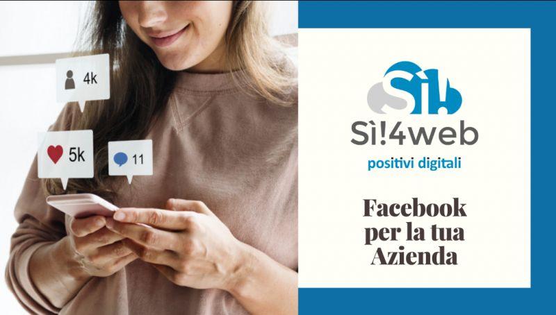 Si4web offerta gestione pagina facebook per azienda catanzaro - occasione campagne adv catanzaro