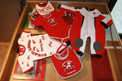 body set ducati corse neonato