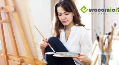 offerta vendita tele per dipingere promozione tele artigianali per pittura