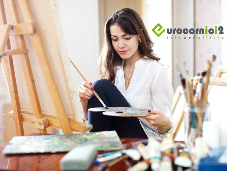 Offerta Vendita tele per dipingere - Promozione tele artigianali per pittura