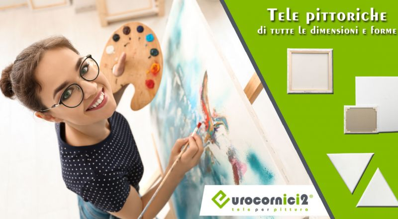 Eurocornici 2 - offerta vendita online tele per dipingere - occasione tele per dipingere artigianali su misura