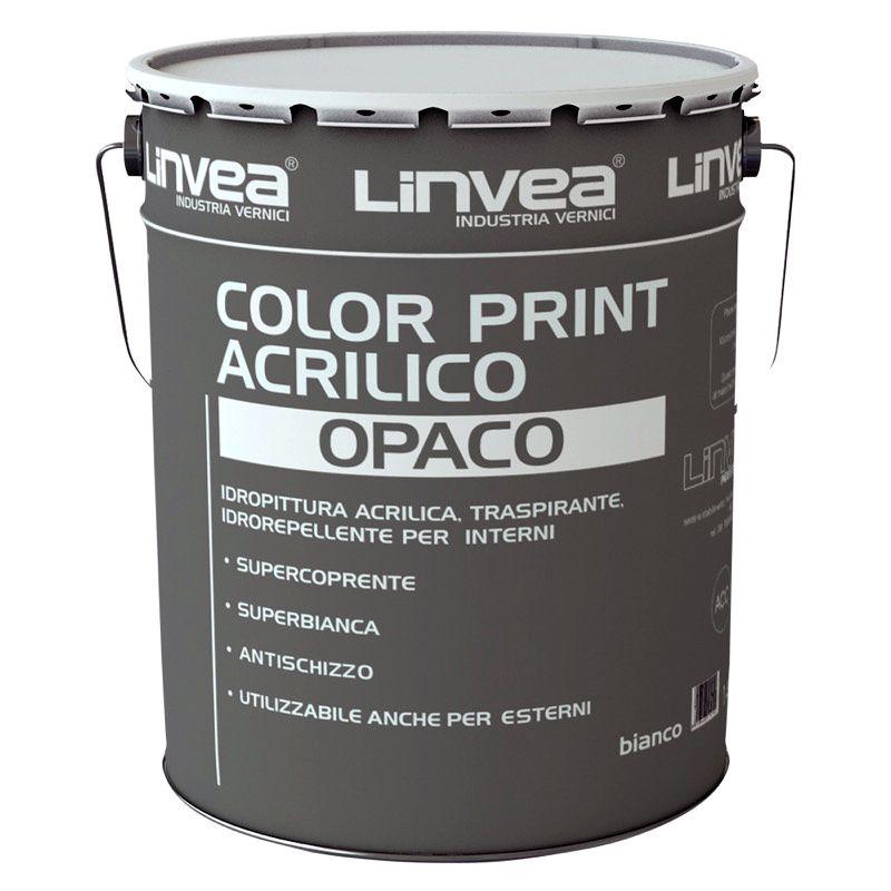 Offerta - Color Print Acrilico Opaco Linvea