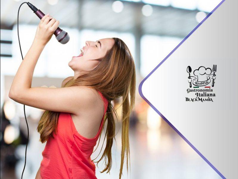 Offerta Karaoke party - Promozione Karaoke  - Occasione pub Karaoke  - Black Mamba