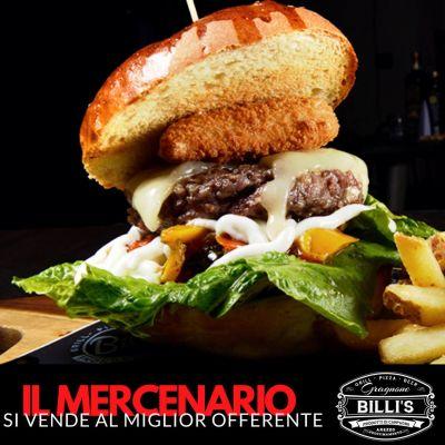 billis gragnone hamburger arezzo il mercenario