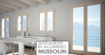mussolin serramenti offerta finestre e porte in alluminio occasione infissi su misura vicenza