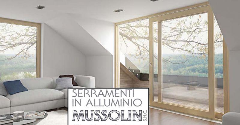 offerta serramenti termici infissi - occasione Mussolin vetri di sicurezza isolanti vicenza