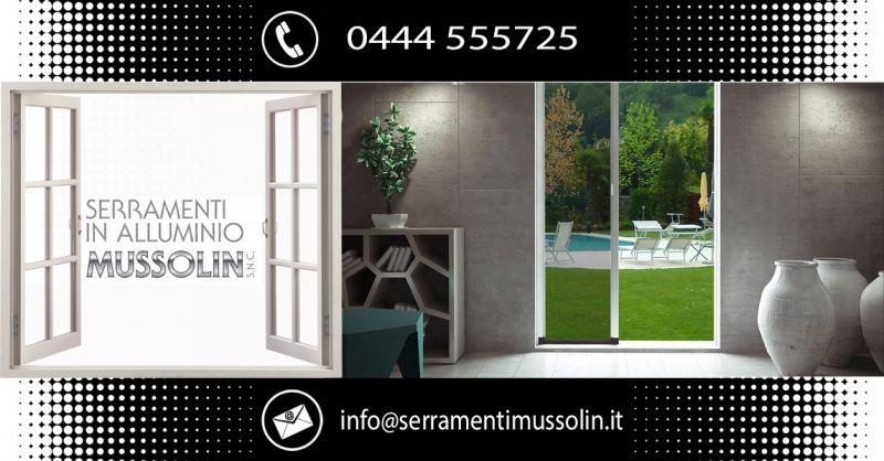 SERRAMENTI IN ALLUMINIO MUSSOLIN - Trova azienda artigianale specializzata serramenti alluminio Vicenza