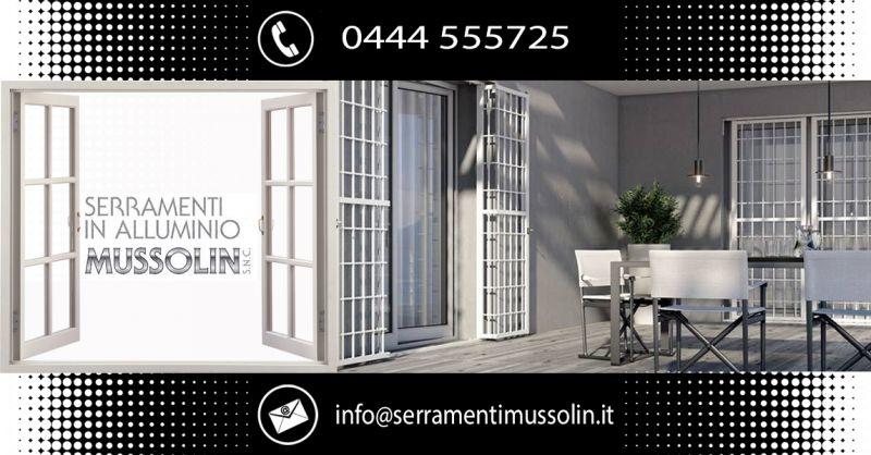 SERRAMENTI IN ALLUMINIO MUSSOLIN - Offerta Installazione Serramenti in Alluminio personalizzati Vicenza