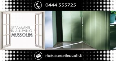 serramenti in alluminio mussolin occasione scuri o balconi alla vicentina e alla padovana