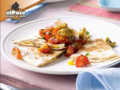 offerta quesadillas fritte ripiene salerno promozione panini gluten free el paso braceria