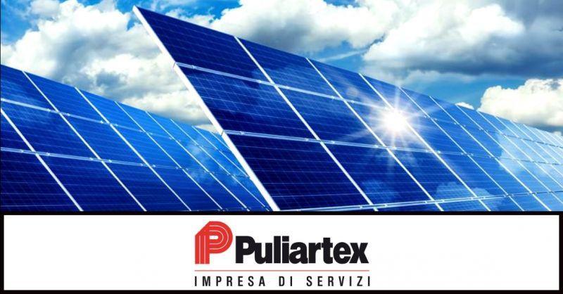 PULIARTEX - offerta interventi di pulizia professionale pannelli fotovoltaici Piacenza Cremona