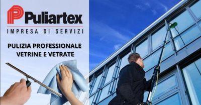 offerta pulizia professionale vetri e grandi vetrate occasione servizio pulizia vetrate facciate continue lodi