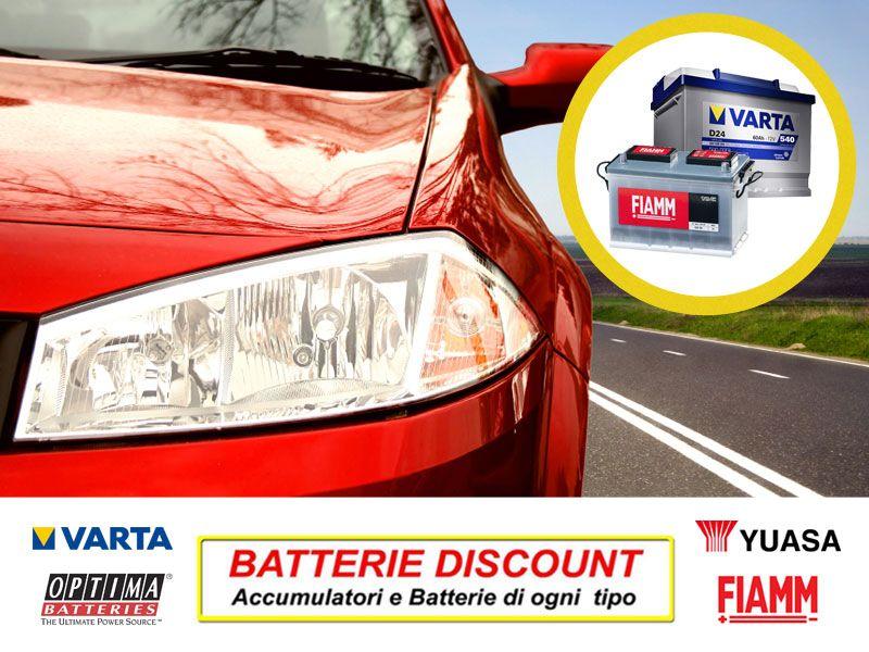 Offerta accessori auto - Promozione manutenzione accessori auto - Batterie Discount