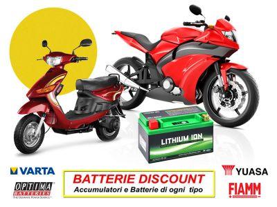 offerta batterie moto promozione batterie scooter batterie discount