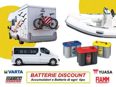 offerta batterie per servizi promozione accumulatori batterie discount